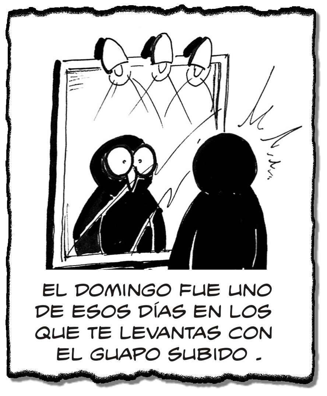 EDU, El Pollito Pijo: EL GUAPO SUBIDO. Basado en las cosas que le pasan al ...