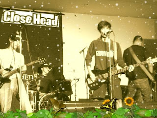 Close Head Foto Band Punk Melodic Jakarta Indonesia