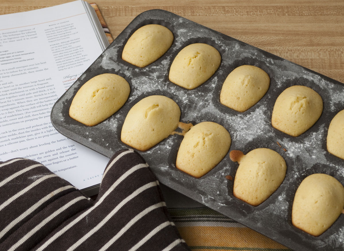 Meyer Lemon Madeleine Cookies Recipes — Dishmaps
