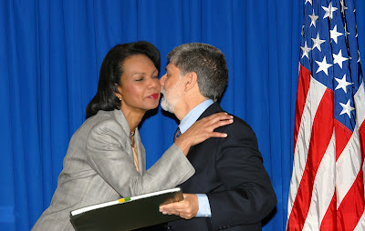 Condoleezza Rice et Celso Amorim