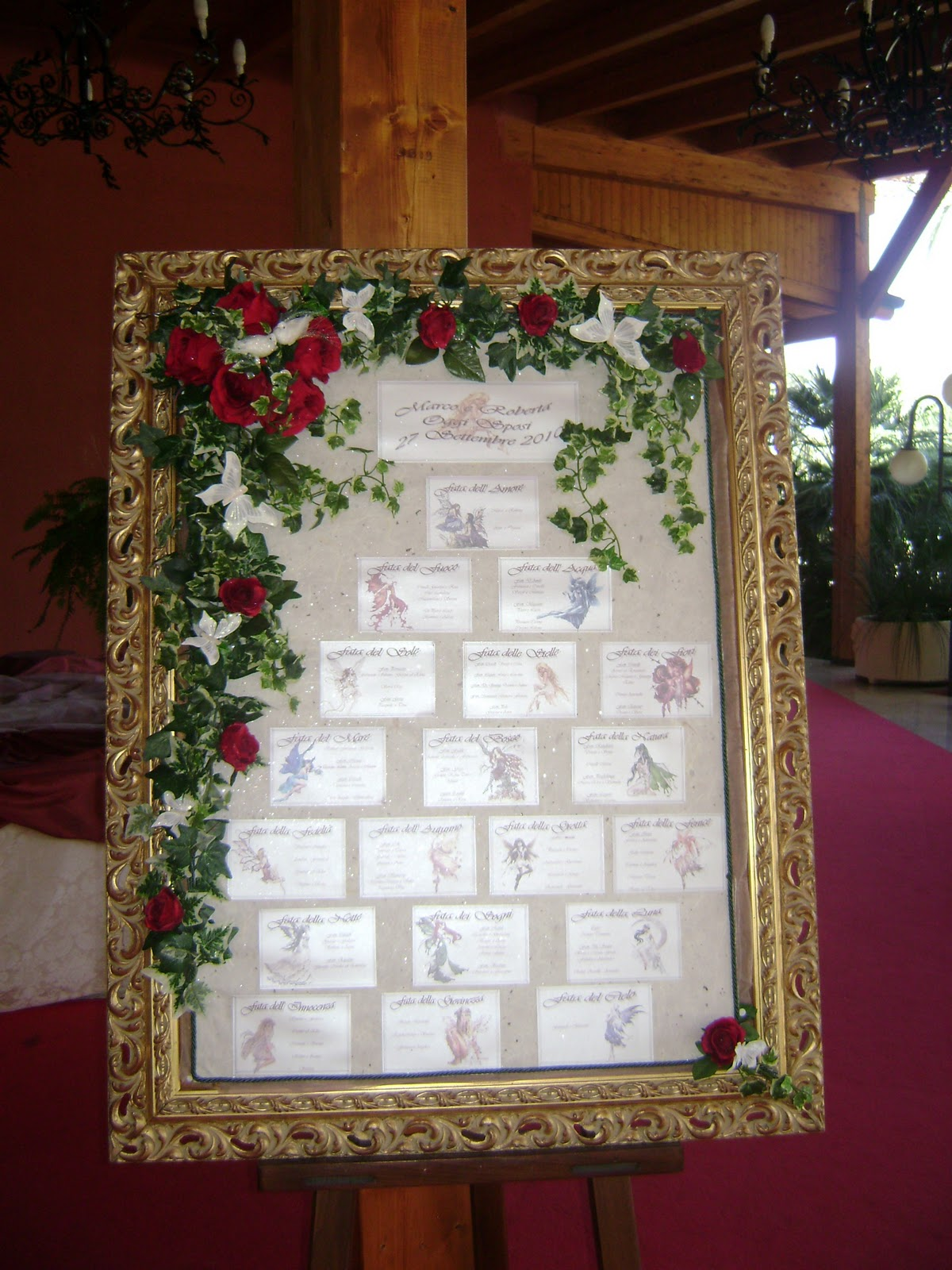 Tableau Matrimonio Tema Natalizio : Tableau de mariage tutti i temi per gusti
