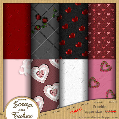 Valentine Papers (CU4CU) Valentine+Papers_Preview_Scrap+and+Tubes
