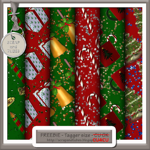 Christmas Papers 3 (CU4CU) Christmas+Papers+3_Preview_Scrap+and+Tubes