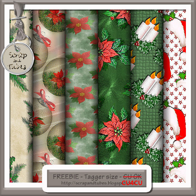 Christmas Papers 4 (CU4CU) Christmas+Papers+4_Preview_Scrap+and+TUbes