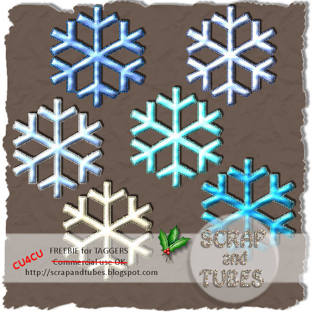 Xmas Snowflakes (CU4CU) SAT_Xmas+Snowflakes_Preview_Scrap+and+Tubes