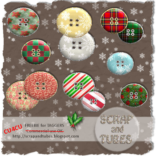 Christmas Buttons (CU4CU) SAT_Christmas+Buttons_Preview_Scrap+and+Tubes