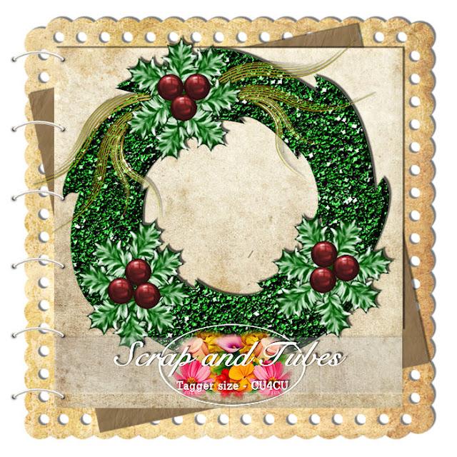 Xmas Wreath (CU4CU) .Xmas+Wreath_Preview_Scrap+and+Tubes