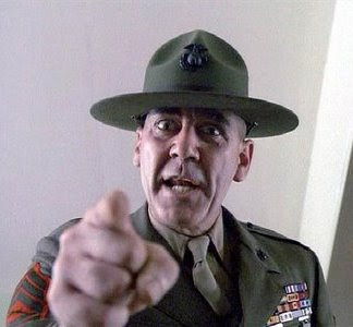 Full Metal Jacket Drill Sergeant