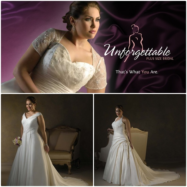 Blog: Win a Dress from the Unforgettable Collection - Plus Size Gown ...