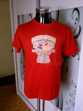 VINTAGE 1981 CHAMPION IRON ON 50/50 SHIRT
