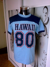 VINTAGE HAWAII 80 POLYTEES 50/50 KAIN SAMBUNG SHIRT (strictly not for sale!!)