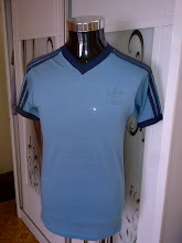 VINTAGE ADIDAS 50/50 MADE IN USA V NECK SHIRT (SOLD)