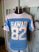 VINTAGE HAWAII 82 RAGLAN JERSEY by 80s ARTEX TAG (SOLD!!)