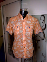 VINTAGE WESTERN LEVIS BUNGA PEARL SNAP BUTTON SHIRT (SOLD)