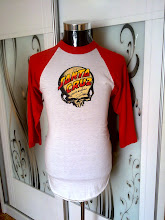 VINTAGE SANTA CRUZ 50/50 3 QUARTER SHIRT VERY RARE (SAPE NK SMS/CALL) (SOLD!!!!)