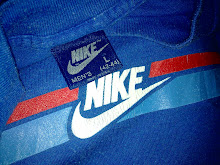 VINTAGE NIKE BLUE TAG 50/50 SHIRT (NFS!!!)