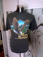 VINTAGE HARLEY DAVIDSON GUAM USA 3D EMBLEM T SHIRT (SOLD)