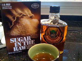 Waffle Muffins with Maple Sugar Glaze
