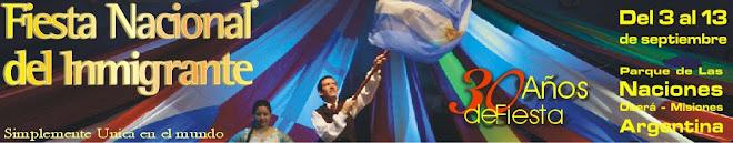 Fiesta Nacional del Inmigrante 2009