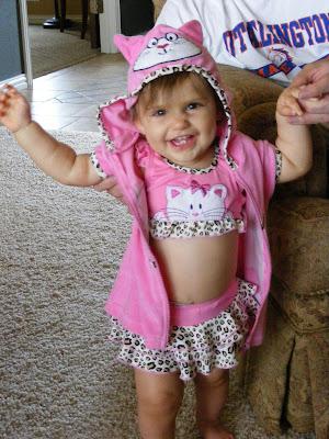 Annalise lorain goddard our little swimsuit model