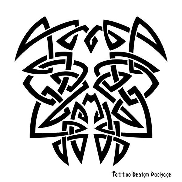 tribal dragon tiger. tribal sleeve tattoo designs.