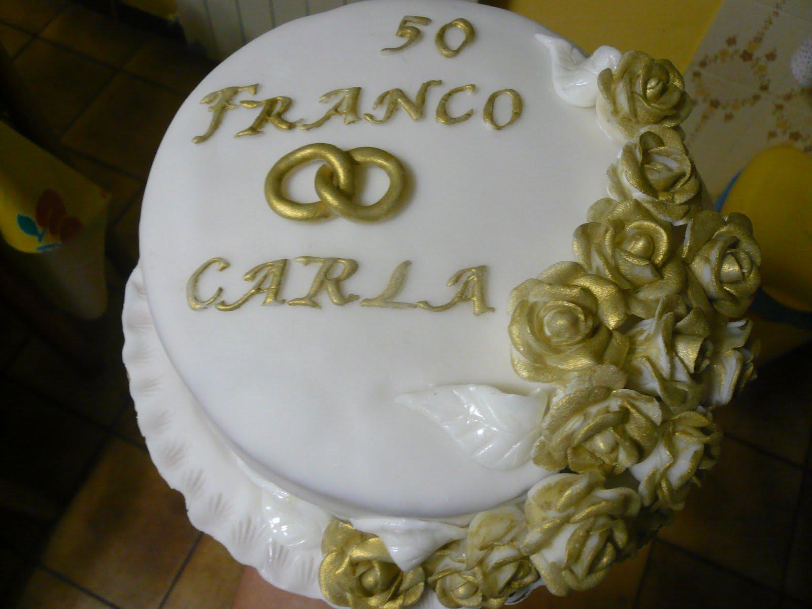 Briciole Di Cannella Torta Nozze D Oro Franco Carla