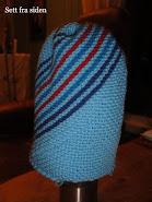 Hvordan strikke skrå-lue