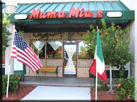 Outside Mama Mia; photo courtesy of www.mamamiaskitchen.com