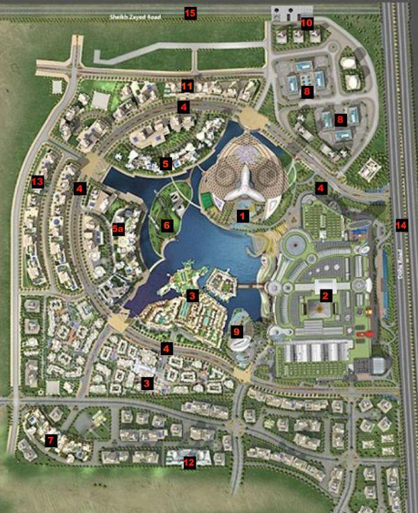 Dubai Marina Master Plan Maps Wroc Awski Informator