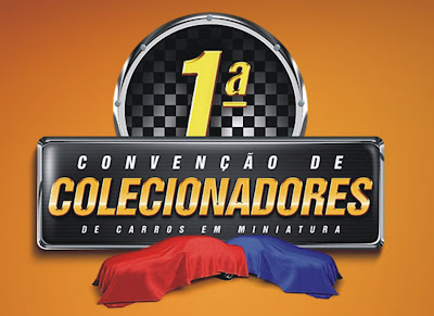 1ª Convenção de Colecionadores de Carros em Miniatura acaba de ser lançada oficialmente Colecon1