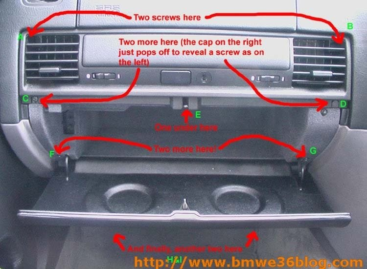 image01 e36 316i removing bmw e36 glove box bmw e36 fuse box location at nearapp.co