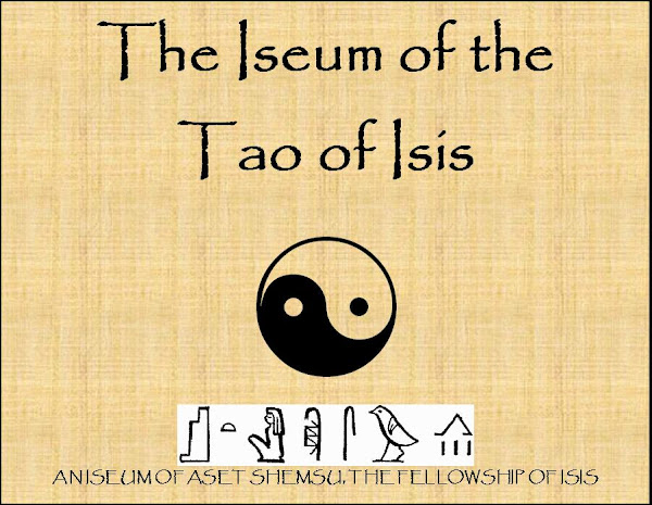 THE ISEUM OF THE TAO OF ISIS