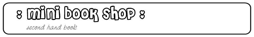 Mini Book Shop
