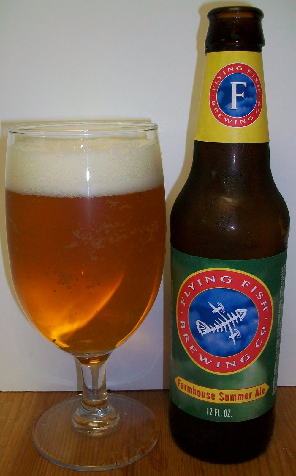 John s Bier Blog Flying Fish Farmhouse Summer Ale