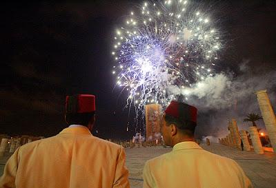 Fiestas morunas por la llegada de un churumbel a la familia de Mojamé