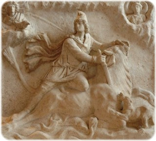 Mithras, dando matarile al Morlaco