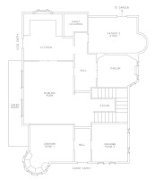 coraline house floor plan idea home and house