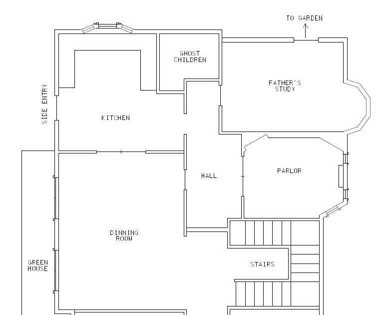 Coraline house floor plan home design and style for Palace house plans