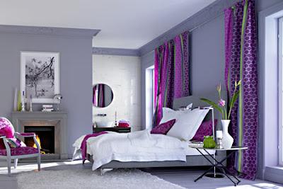 wohnzimmer » wohnzimmer grau violett - tausende bilder von ...