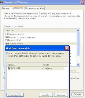 Redes y funciones escritorio remoto en una vm de windows server 2003 - Conexion a escritorio remoto windows xp ...