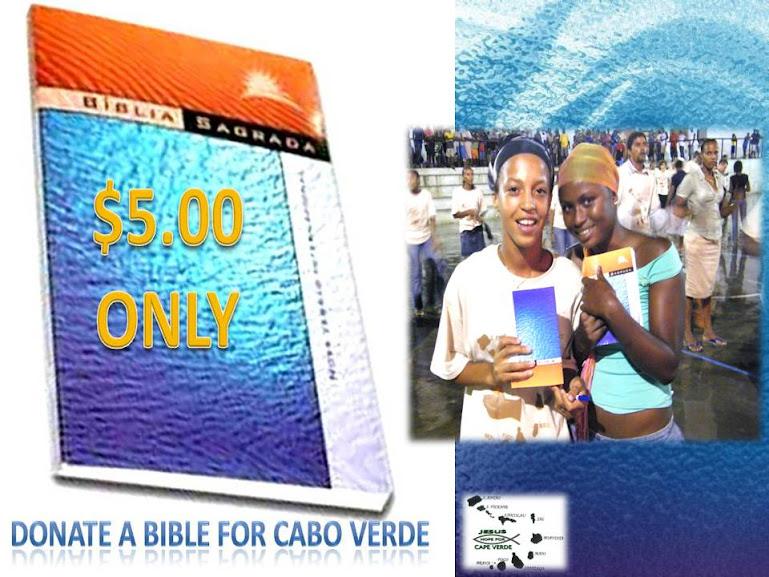 BIBLE DONATION - DOAÇÃO DE BÍBLIAS