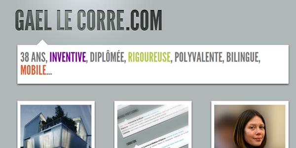 cv en ligne site web
