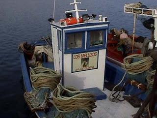 barco marisquero de La Atunara