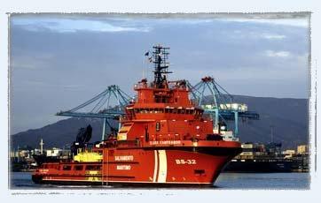Salvamento marítimo en Algeciras
