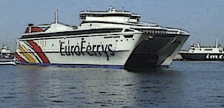 línea marítima Ceuta-Algeciras