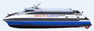 conexiones marítimas entre Gibraltar y otros puertos españoles