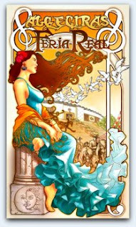 cartel feria de Algeciras 2009