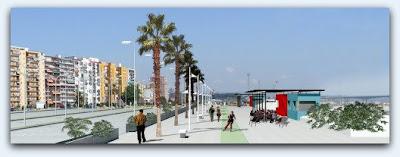Paseo Marítimo en el Muelle de Ribera