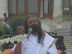 guruji in ashram