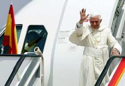 FOTOS VIAJE S.S.BENEDICTO XVI A ESPAÑA